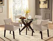 Glass Dining Table HE774
