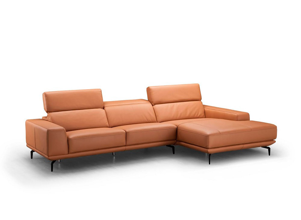 Lara Leather Sectional Sofa Leather Sectionals