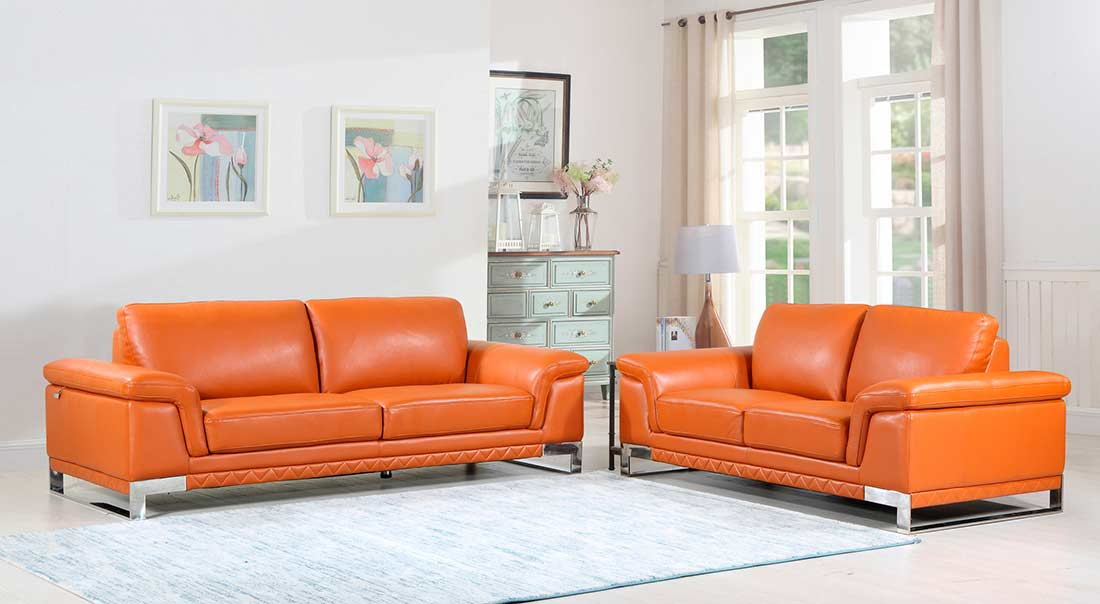 Camel Leather Sofa DI11 ...