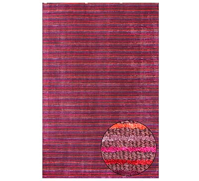 Contemporary Purple Wool Rug FR 703