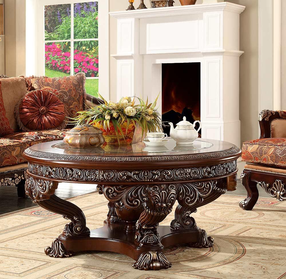 Dark Walnut Coffee Table Hd 017 Classic