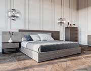 Italian Oak Grey Bedroom Set VG 393