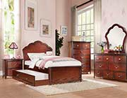 Kids Bed in Cherry finish AC 275