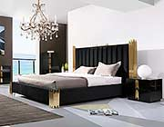Black and Gold Bed VG 259