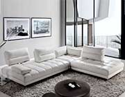 Top Grain Leather Sectional Sofa by Moroni