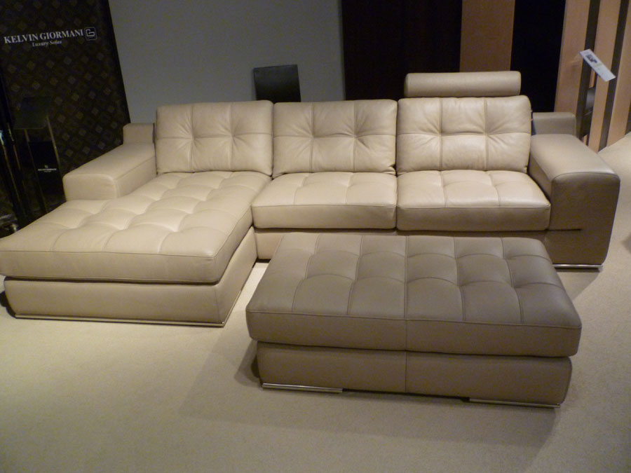 Fiore exclusive italian leather sectional sofa leather for Exclusive sofa
