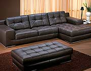 Fiore Exclusive Italian leather Sectional sofa