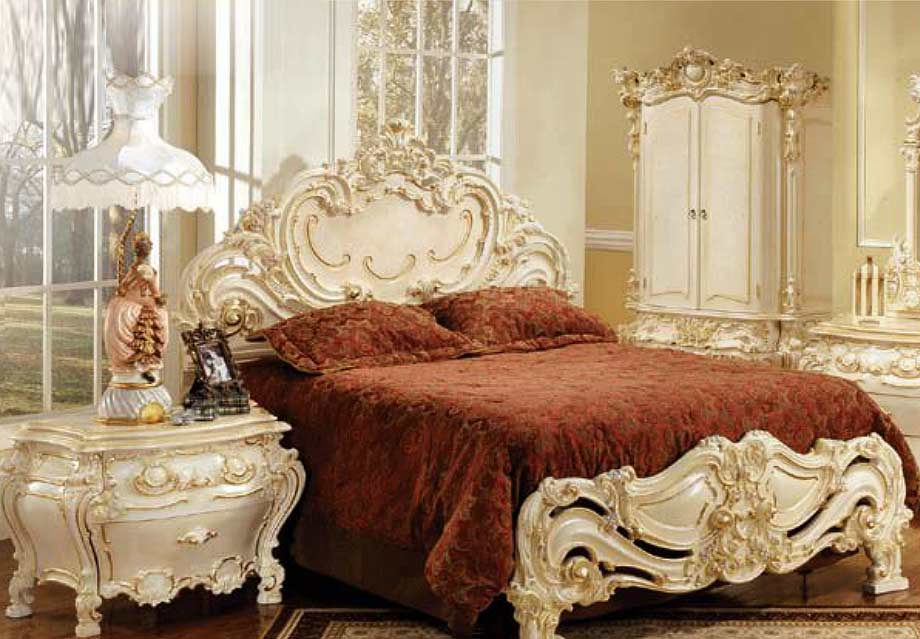 Home Baroque Furniture Baroque Bedroom Furniture E