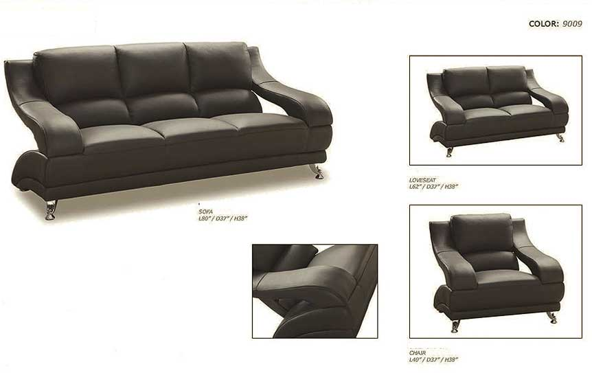 Gt Living Room Furniture Leather Sofa Clean White - AxSoris.