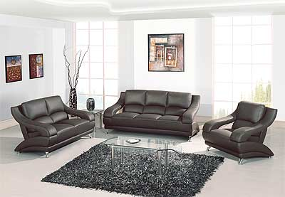 Leather Furniture Sets on Leather Sofas    Leather Sofa Set Gb 82