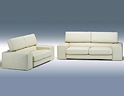 HE-Minelli-Italian Leather Sofa Set