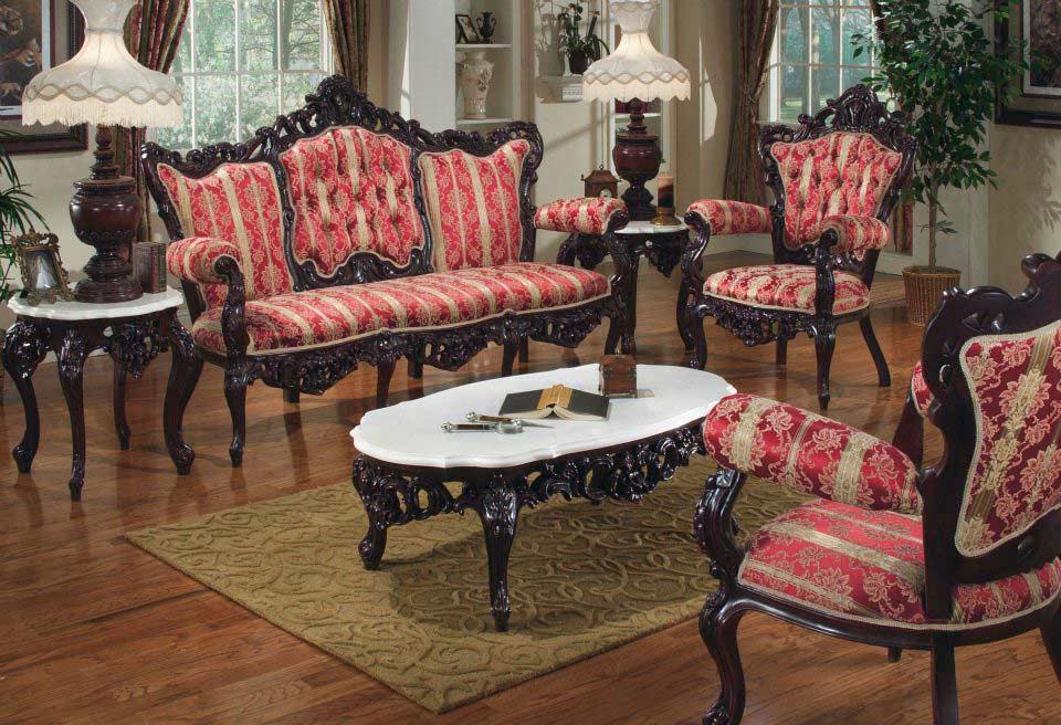 Provincial Sofa Collection 6113 Baroque Sofas