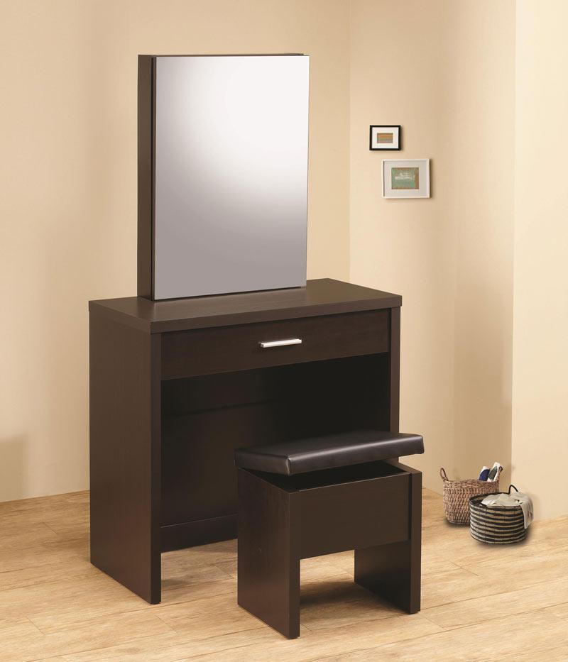 Cappuccino Vanity CO 289 | Bedroom Vanity Sets
