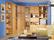 Modern Modular Corner Wall Unit Michigan-3