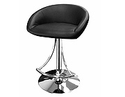 Modern black bar stool CR1185