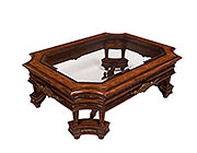 BT 088 Traditional Dark Cherry Coffee table