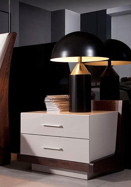 Modern LED Bedroom Set Rivera