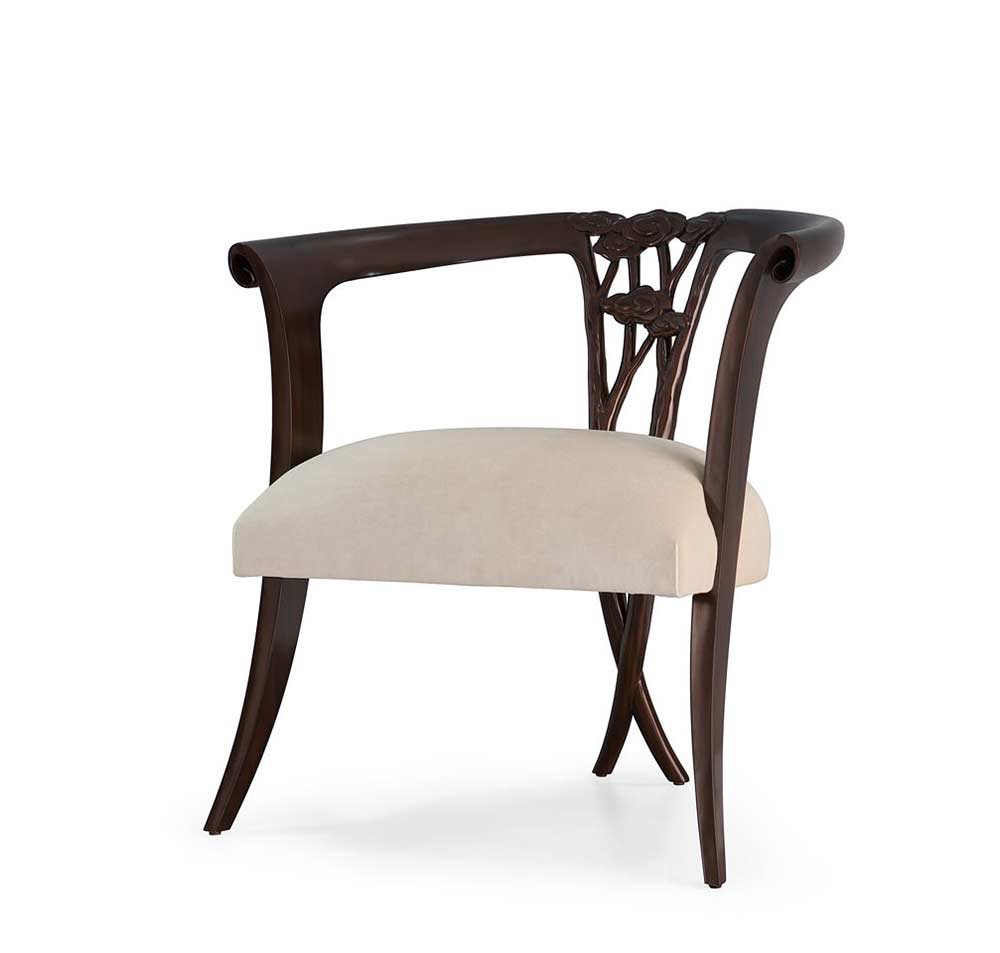 La Dame Low Back Chair By Christopher Guy