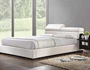 White Platform Bed Nina AC 420