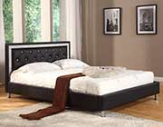 Black Chic Modern Bed W805