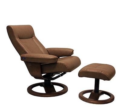 Fjords Manjana Large Ergonomic Recliner By Hjellegjerde