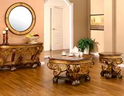 Traditional Gold Coffee table HD112