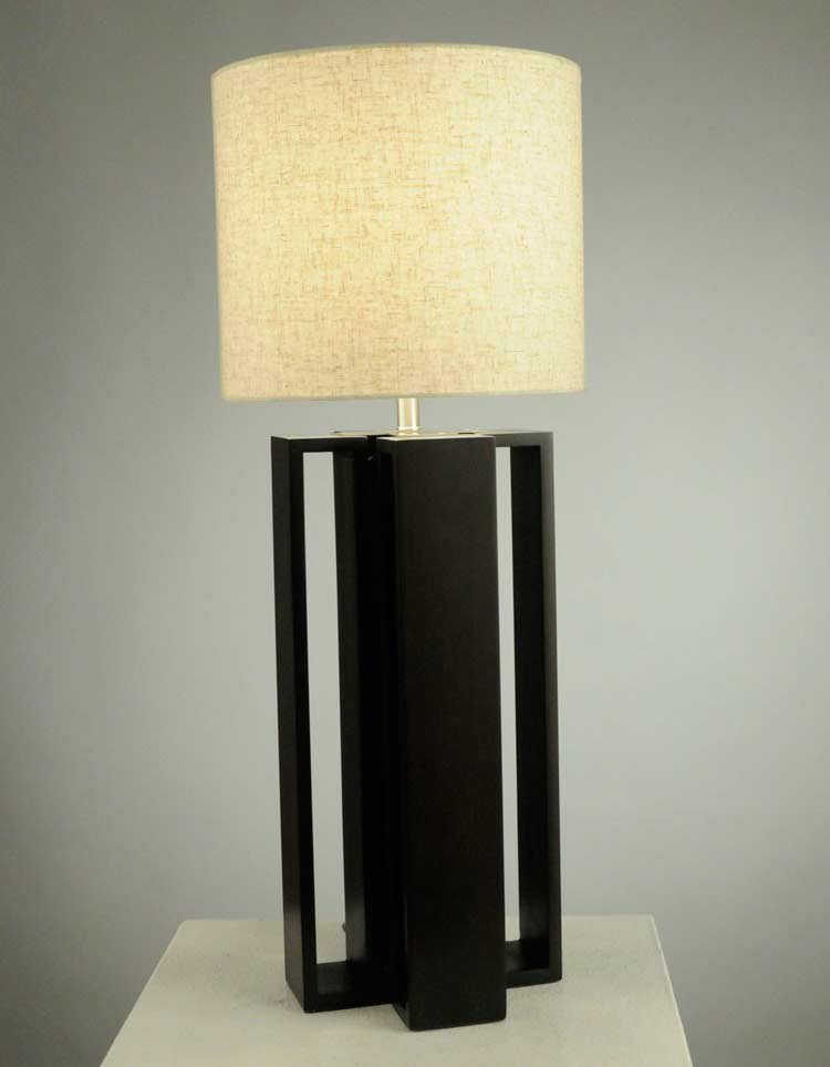 Modern table lamp nl159 floor table - Artistic d lamp shade designed with modern and elegant shape style ...