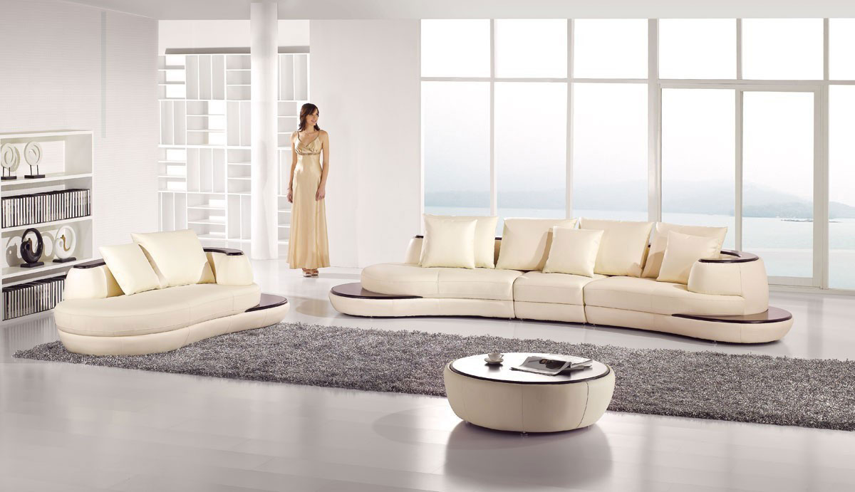 Stupendous Curved Sectional Sofa And Chaise Ae2 Leather Sectionals Creativecarmelina Interior Chair Design Creativecarmelinacom
