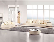 Curved Sectional Sofa and Chaise AE2