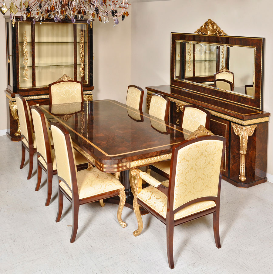 Luxurious low bar cabinet valentine bar for Classic dining room furniture