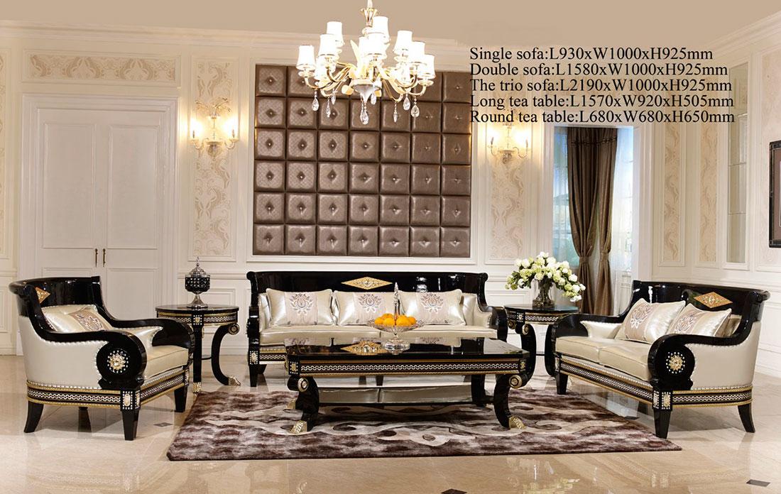 Traditional Fabric Sofa Scarlett Traditional Sofas