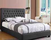 Charcoal Tufted Bed CO 529