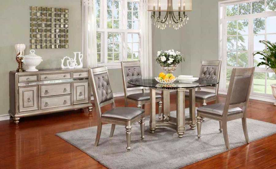transitional dining room sets. Round Dining Table CO Daniela Transitional Room Sets