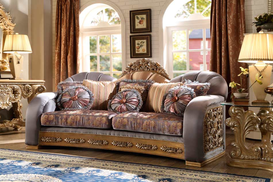 Luxury Living Room Collection Hd302 Traditional Sofas