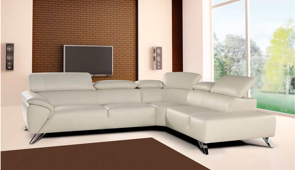 Pleasant Blanca Leather Sectional Sofa By Nicoletti Leather Sectionals Ncnpc Chair Design For Home Ncnpcorg