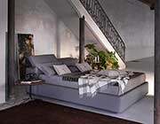 Modern Grey Platform bed with Storage NJ087