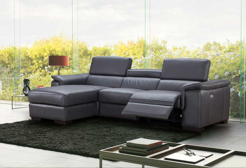 : top grain leather sectional recliner - Sectionals, Sofas & Couches