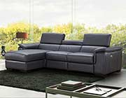 Premium Leather Sectional sofa with Power Recliner NJ Ariana