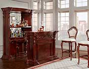 Mahogany French Provincial Bar 9181