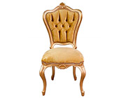 Gold Velvet Provincial Chair 766D