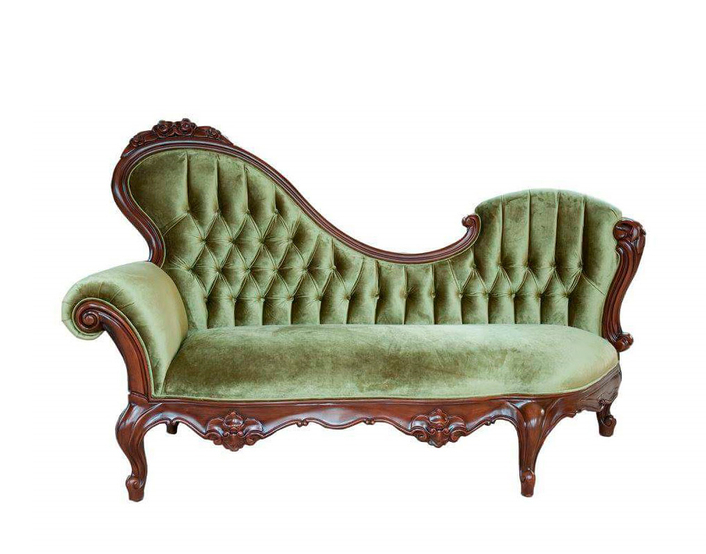 - French Provincial Chaise Lounge 756 Provincial