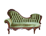 French Provincial Chaise Lounge 756
