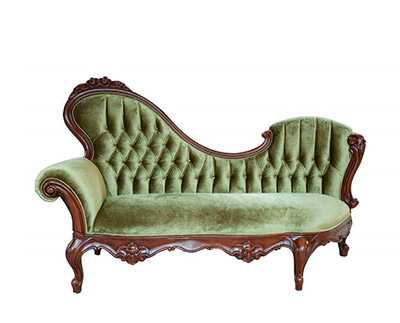French Provincial Chaise Lounge 756 Provincial