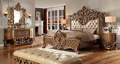 Traditional Bed HD018