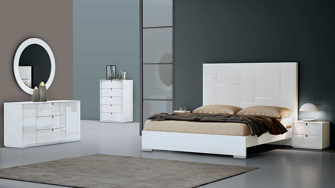 White Modern Bedroom Set Modern Bedroom Furniture