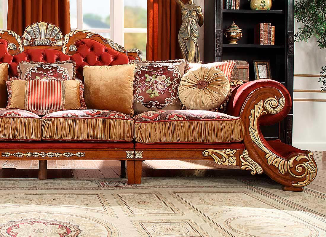 Classic Sectional sofa HD 575   Traditional Sofas