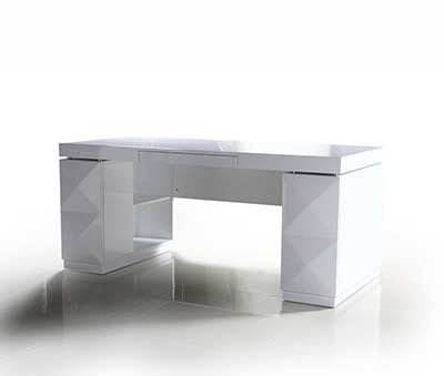White desk with cabinet VG 419