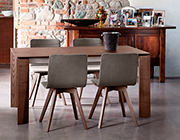 Maxim 182 Anthracite Extendable Table by Domitalia