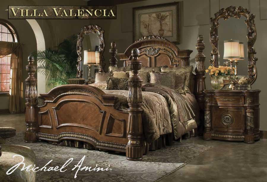 Villa Valencia Bed By Aico