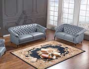 Gray Bonded Leather Sofa set AE 398